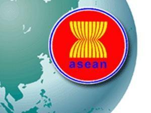 Biểu tượng của hiệp hội các nước Đông Nam Á (Asean) là hình bó lúa. Bó lúa tượng trưng cho nền kinh tế nông nghiệp của các nước trong khu vực. Mỗi rẻ lúa