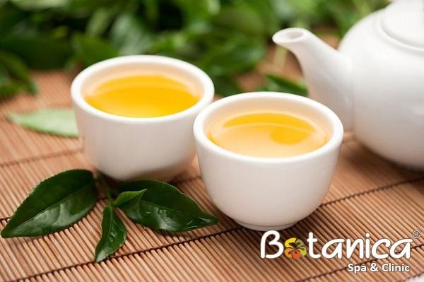 Cách làm trắng da bằng trà xanh hiệu quả trong 1 tháng