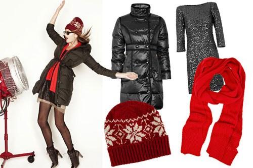 Kết hợp quần áo mùa đông
