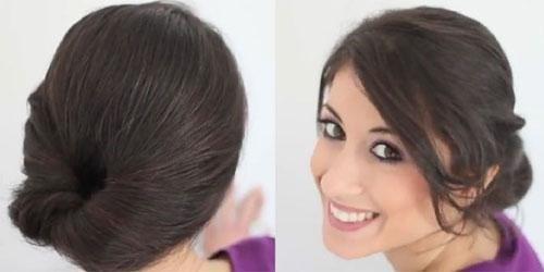 Những kiểu tóc đơn giản cho cô nàng lười biếng