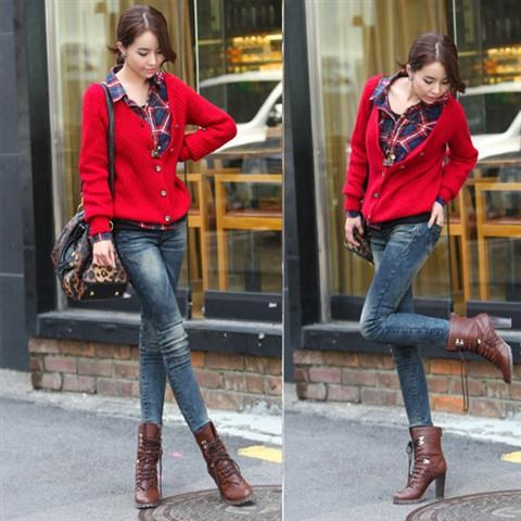 Áo len đẹp 2012