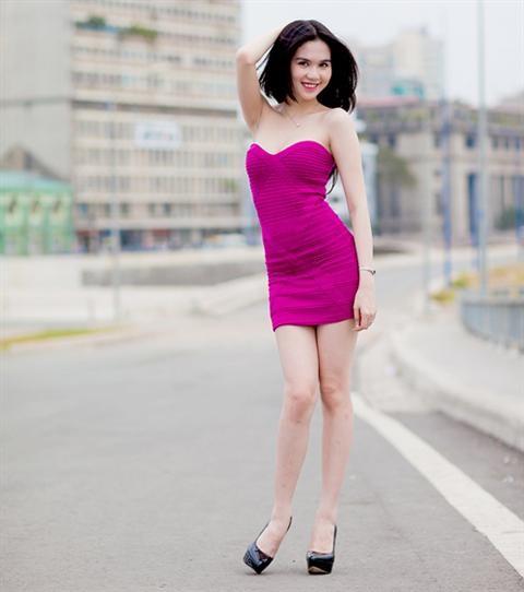 Váy ngắn ôm sát người