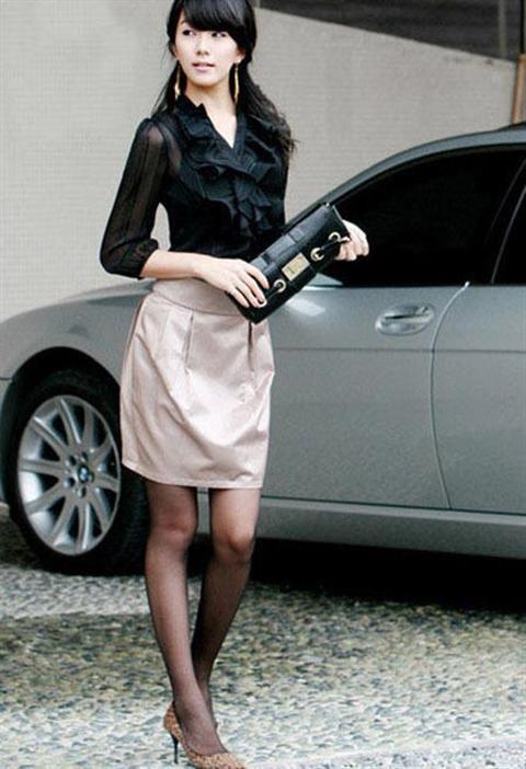 Váy công sở Hàn Quốc 2012