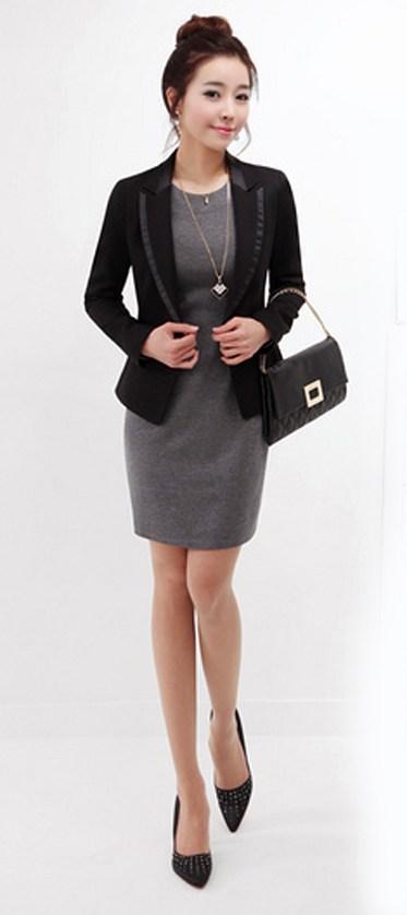 Thời trang công sở áo vest nữ