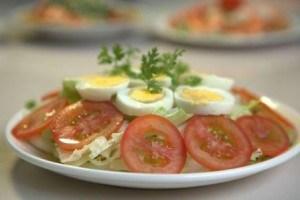 Salad trứng ngỗng – dinh dưỡng cho bà bầu