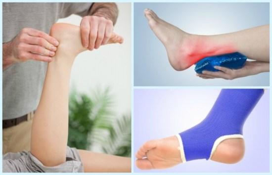 Khi chân bị tổn thương, đặc biệt là bong gân, sẽ khiến bạn phải chịu những đơn đau khủng khiếp. Dưới đây là những cách đơn giản giúp bạn dịu bớt cơn đau. 1.