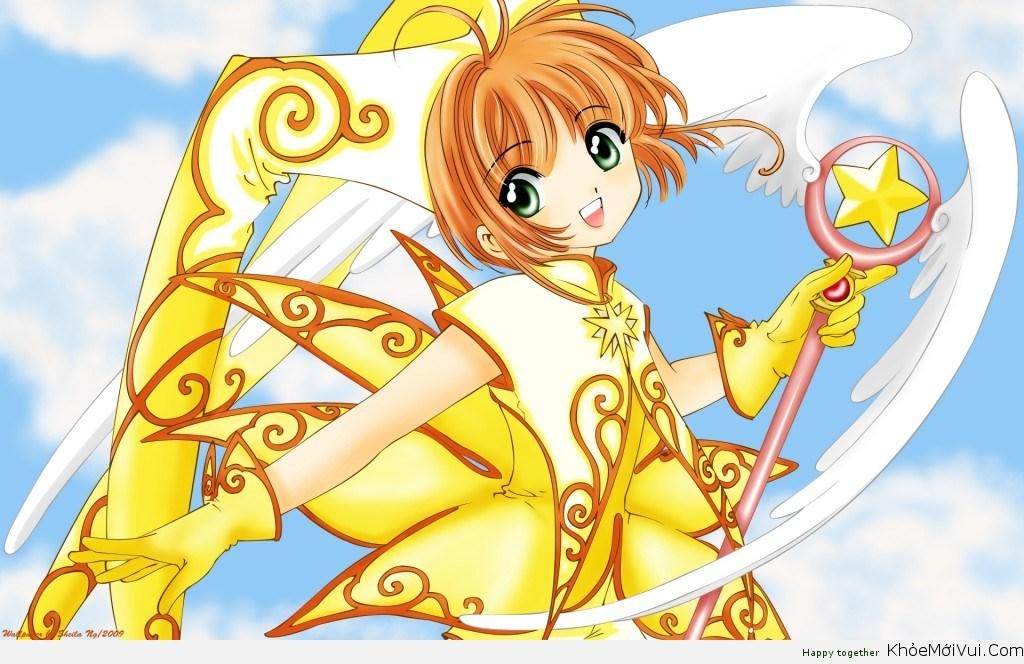 Cô bé Sakura dễ thương trong bộ truyện tranh cùng tên có khả năng sử dụng phép thuật của những tấm thẻ để giúp đỡ mọi người. Cô bé thật xinh xắn, đáng yêu và