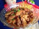 Thịt tẩm bột hấp cay ăn đơn giản mà ngon miễn bàn