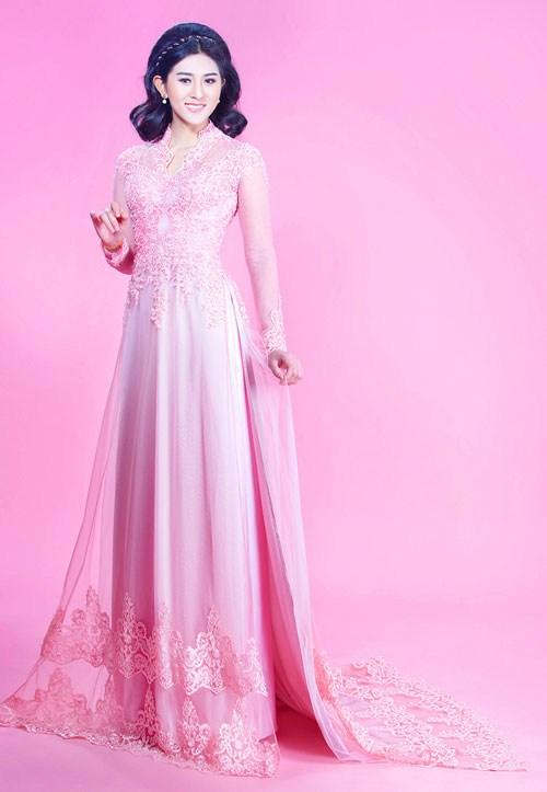 Các kiểu áo dài cưới đẹp dịu dàng