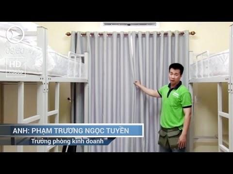 Video Clip: Cách may rèm cửa sổ cực đơn giản
