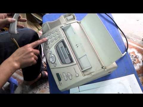 Video Clip: Cách sử dụng máy Fax