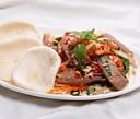 Các món ăn từ lưỡi lợn: lưỡi heo trộn chua ngọt