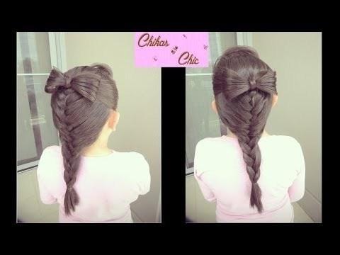 Video Clip: Làm tóc đẹp cho bé gái đi dự tiệc