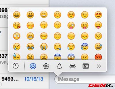 iThời gian gần đây, Facebook đã cho thêm những biểu tượng cảm xúc, vui