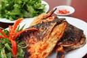 Cách làm món đầu cá hồi nướng muối ớt ngon tuyệt cú mèo